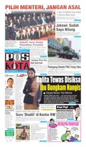Pos Kota Cover 21 October 2019