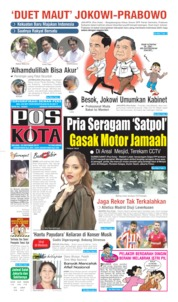 Pos Kota Cover 22 October 2019