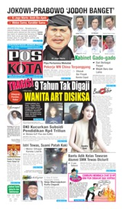 Pos Kota Cover 23 October 2019