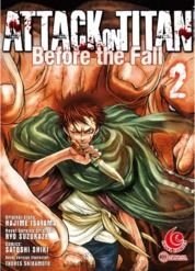 Cover LC: Attack on Titan Before The Fall #02 oleh Hajime Isayama