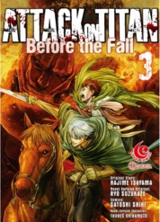 Cover LC: Attack on Titan Before The Fall #03 oleh Hajime Isayama