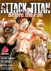Cover LC: Attack on Titan Before The Fall #04 oleh Hajime Isayama