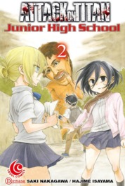 Cover LC: Attack on Titan - Junior High School #02 oleh Hajime Isayama