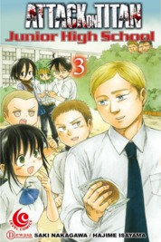 Cover LC: Attack on Titan - Junior High School #03 oleh Hajime Isayama