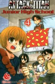 LC: Attack on Titan - Junior High School #04 by Hajime Isayama Cover