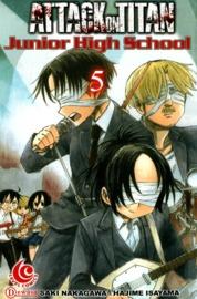 LC: Attack on Titan - Junior High School #05 by Hajime Isayama Cover