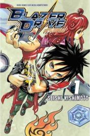 Blazer Drive 01 by Seishi Kishimoto Cover