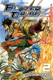 Blazer Drive 02 by Seishi Kishimoto Cover