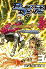 Blazer Drive 03 by Seishi Kishimoto Cover