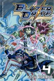 Blazer Drive 04 by Seishi Kishimoto Cover