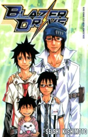 Blazer Drive 09 by Seishi Kishimoto Cover