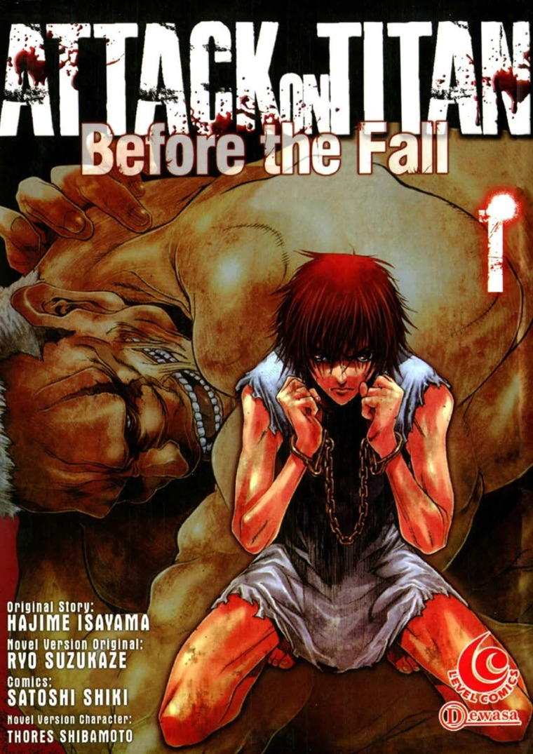 LC Attack On Titan Before The Fall 01 By Hajime Isayama Digital Book