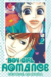 Cover LC: Boy Girl Romance 02 oleh George Asakura