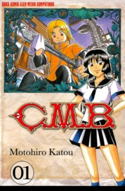 Cover C.M.B. (1) oleh Motohiro Katou