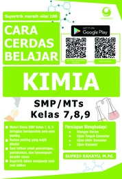 Cara Cerdas Belajar Kimia SMP/MTs Kelas 7, 8, 9 by Suprih Rahayu, M.Pd. Cover