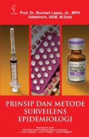 Prinsip dan Metode Surveilens Epidemiologi by Buchari Lapau Cover