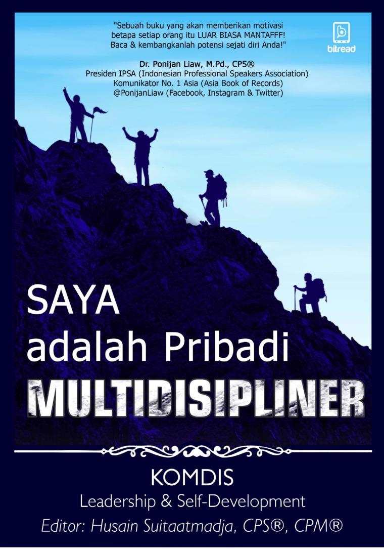 Buku Digital Saya Adalah Pribadi Multidisipliner oleh Komdis Leadership & Self-Development