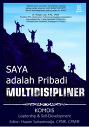 Cover Saya Adalah Pribadi Multidisipliner oleh Komdis Leadership & Self-Development
