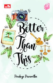 City Lite: Better Than This by Pradnya Paramitha Cover