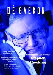 DE GAEKON Magazine Cover ED 01 April 2018