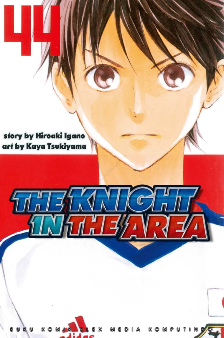 Buku Digital The Knight In The Area 44 oleh Hiroaki Igano / Kaya Tsukiyama