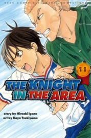 Cover The Knight In The Area 11 oleh Hiroaki Igano / Kaya Tsukiyama