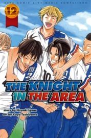 Cover The Knight In The Area 12 oleh Hiroaki Igano / Kaya Tsukiyama