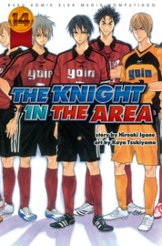 Cover The Knight In The Area 14 oleh Hiroaki Igano / Kaya Tsukiyama