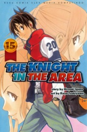 Cover The Knight In The Area 15 oleh Hiroaki Igano / Kaya Tsukiyama