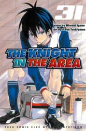 Cover The Knight In The Area 31 oleh Hiroaki Igano / Kaya Tsukiyama