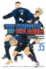 Cover The Knight In The Area 35 oleh Hiroaki Igano / Kaya Tsukiyama