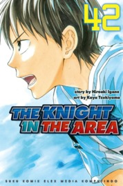 Cover The Knight In The Area 42 oleh Hiroaki Igano / Kaya Tsukiyama