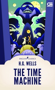 English Classics: The Time Machine by H.G. Wells Cover
