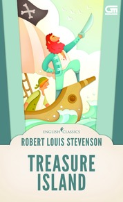 English Classics: Treasure Island by Robert Louis Stevenson Cover