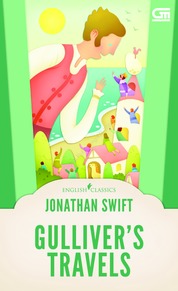 English Classics: Gulliver's Travels by Jonathan Swift Cover