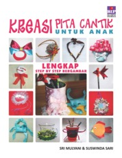 Cover Kreasi Pita Cantik untuk Anak oleh Sri Mulyani & Suswinda Sari