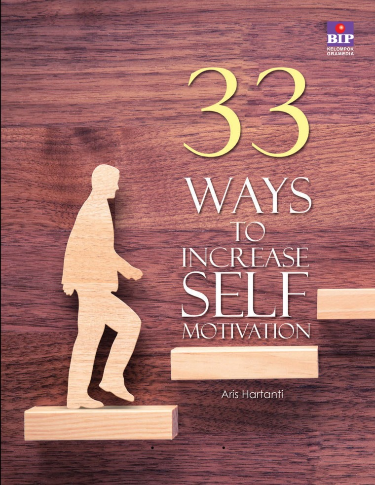 Buku Digital 33 Ways to Increase Self Motivation oleh Aris Hartanti