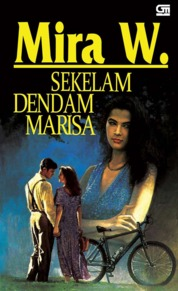 Cover Sekelam Dendam Marisa oleh Mira W