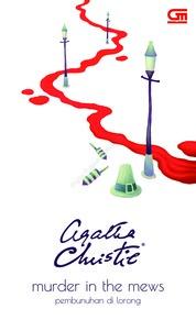 Cover Pembunuhan di Lorong (Murder in Mews) oleh Agatha Christie