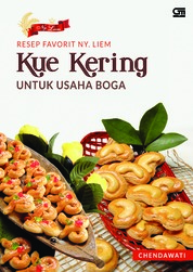 Resep Favorit Ny. Liem: Kue Kering untuk Usaha Boga by Chendawati Cover