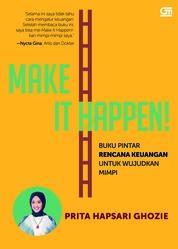 Cover Make It Happen! + Booklet oleh Prita Ghozie
