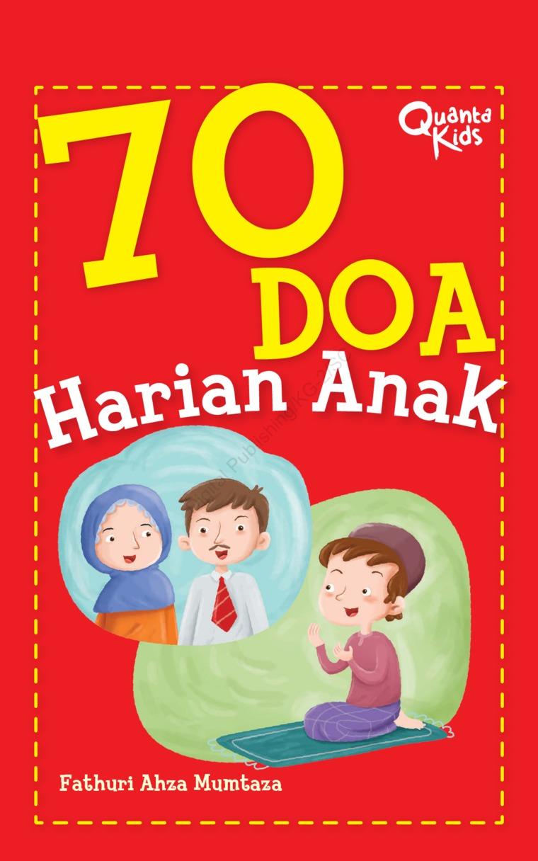 Buku Digital 70 Doa Harian Anak oleh Fathuri Ahza Mumtaza