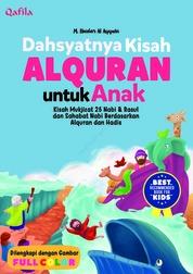 Cover Dashyatnya Kisah AL-QUR'AN untuk Anak oleh Dedi Gunarto