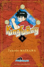 Cover Kungfu Boy (Premium) Vol. 06 oleh Takeshi Maekawa