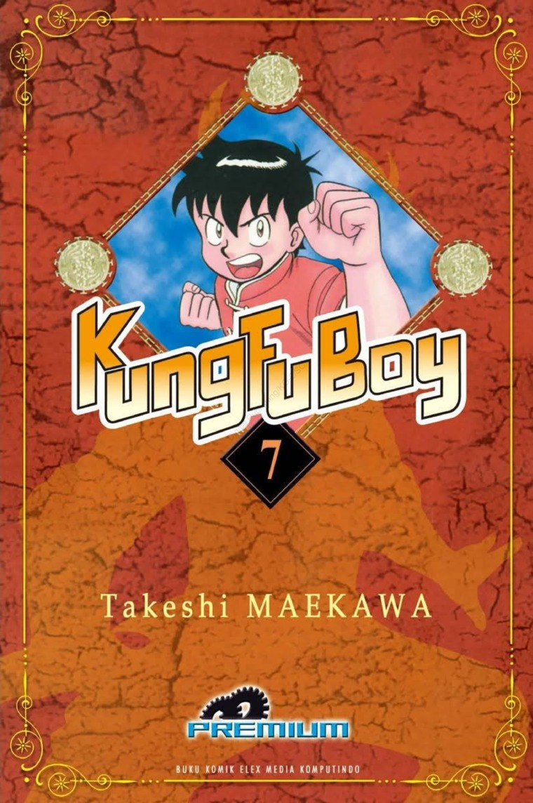 Buku Digital Kungfu Boy (Premium) Vol. 07 oleh Takeshi Maekawa