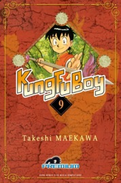 Cover Kungfu Boy (Premium) Vol. 09 oleh Takeshi Maekawa