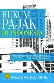 Hukum Pajak di Indonesia by M. Farouq Cover