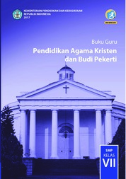 Cover Buku Guru - Pendidikan Agama Kristen dan Budi Pekerti oleh Pdt. Janse Belandina Non-Serrano