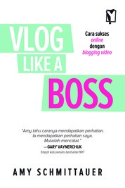 Vlog Like A Boss by Amy Schmittaver Cover
