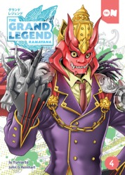 Cover Grand Legend Ramayana vol 4 oleh Is Yuniarto